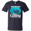 The Ocean Is Calling And I Must Go 2 - Tees