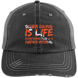 Scuba Diving Is Life Everything Else Is Surface Interval Caps