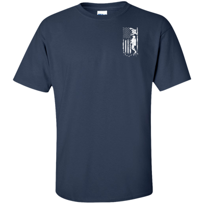 USA Scuba Flag Tees - scubadivingaddicts