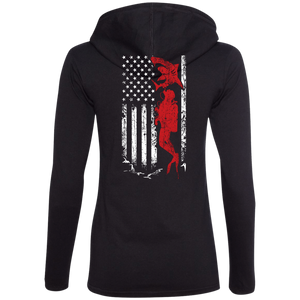 USA Scuba Flag Hoodies - scubadivingaddicts