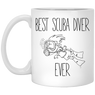Best Scuba Diver Ever - White Mugs