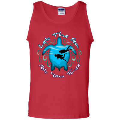 Let The Sea Set You Free Tank Tops