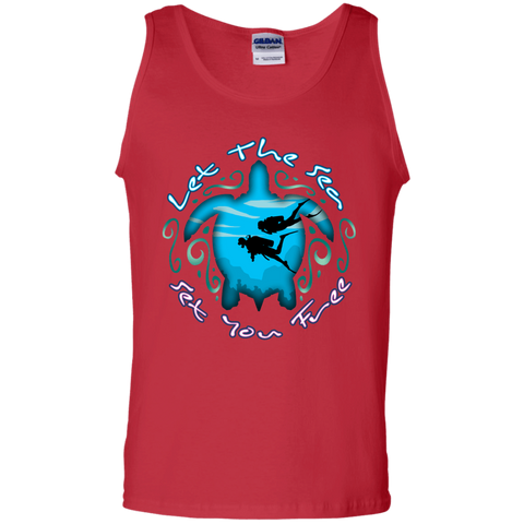Image of Let The Sea Set You Free Tank Tops