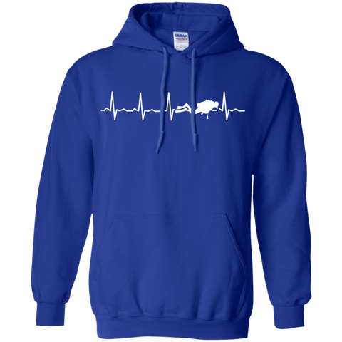 Image of Scuba Heartbeat Hoodies