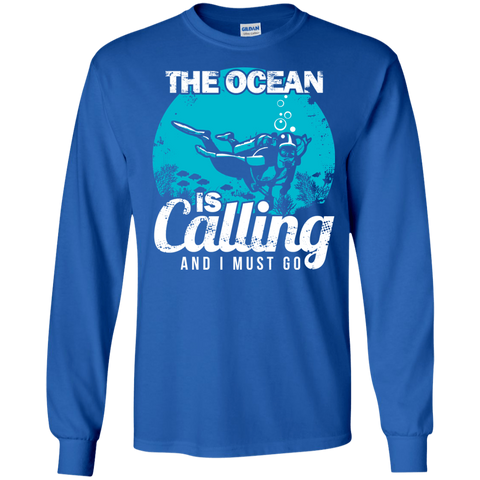 Image of The Ocean Is Calling And I Must Go 2 -  Long Sleeves