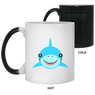 Happy Shark Color Changing Mugs