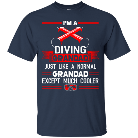 Image of I'm A Diving Grandad Just Like A Normal Grandad Except Much Cooler Tees