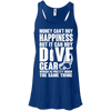 Money Can't Buy Happiness But It Can Buy Dive Gear Which Is Pretty Much The Same Thing Tank Tops