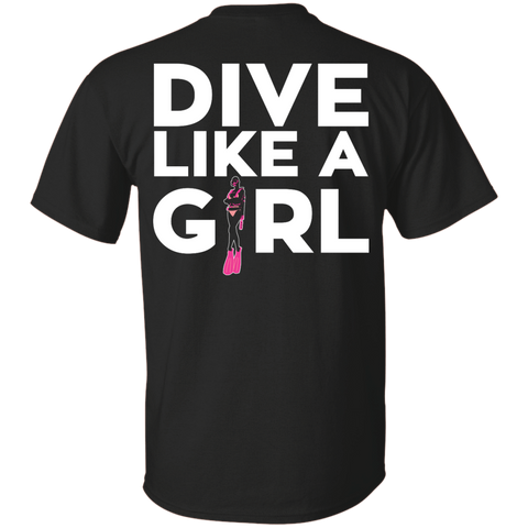 Image of Dive Like A Girl Tees