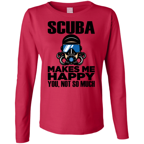 Image of Scuba Makes Me Happy Long Sleeves
