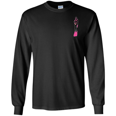 Dive Like A Girl Long Sleeves - scubadivingaddicts