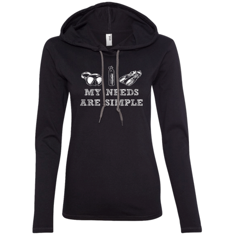 Image of My Needs Are Simple - Scuba Hoodies - scubadivingaddicts