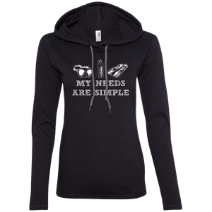 My Needs Are Simple - Scuba Hoodies - scubadivingaddicts