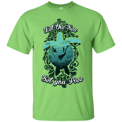 Let The Sea Set You Free - Vintage - Tees