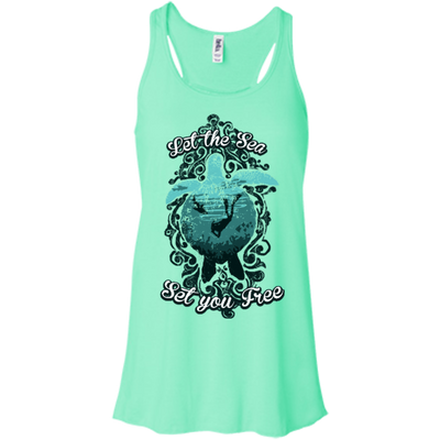 Let The Sea Set You Free - Vintage - Tank Tops