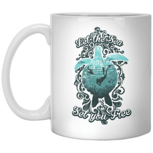 Let The Sea Set You Free - Mug