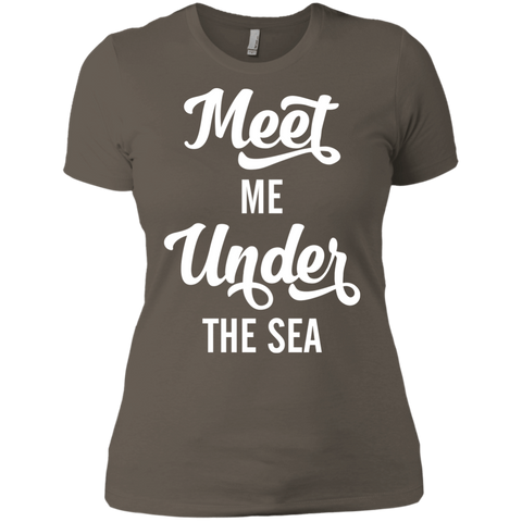 Image of Meet Me Under The Sea Ladies Tees and V-Neck
