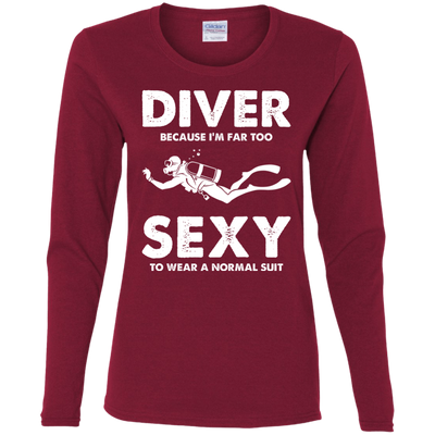 DIVER - Because I'm Far Too Sexy To Wear A Normal Suit - Long Sleeves