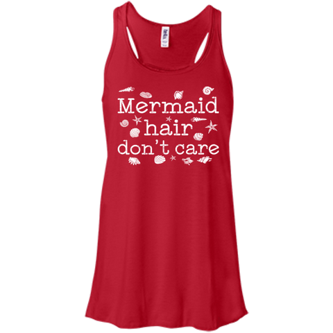Image of Mermaid Hair Don't Care Tank Tops