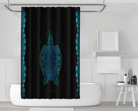 Let The Sea Set You Free Shower Curtain
