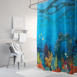 Underwater Paradise Shower Curtains