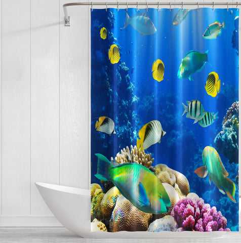 Image of Underwater World Shower Curtain