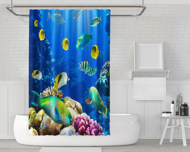 Underwater World Shower Curtain