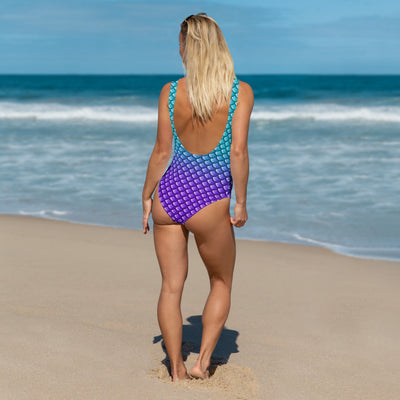 Mermaid Scales One-Piece Swimsuit