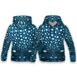 Whale Shark All Over Print Hoodies