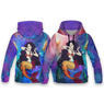 Mermaid All Over Print Hoodie