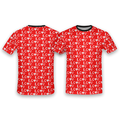 Image of Scuba Love All Over Print T-Shirt