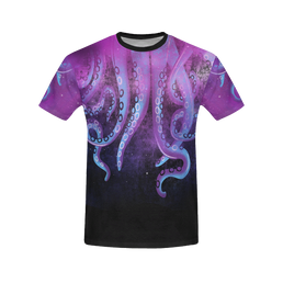 Octopus All Over Print T-Shirt