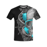 Skull Diver All Over Print T-Shirt