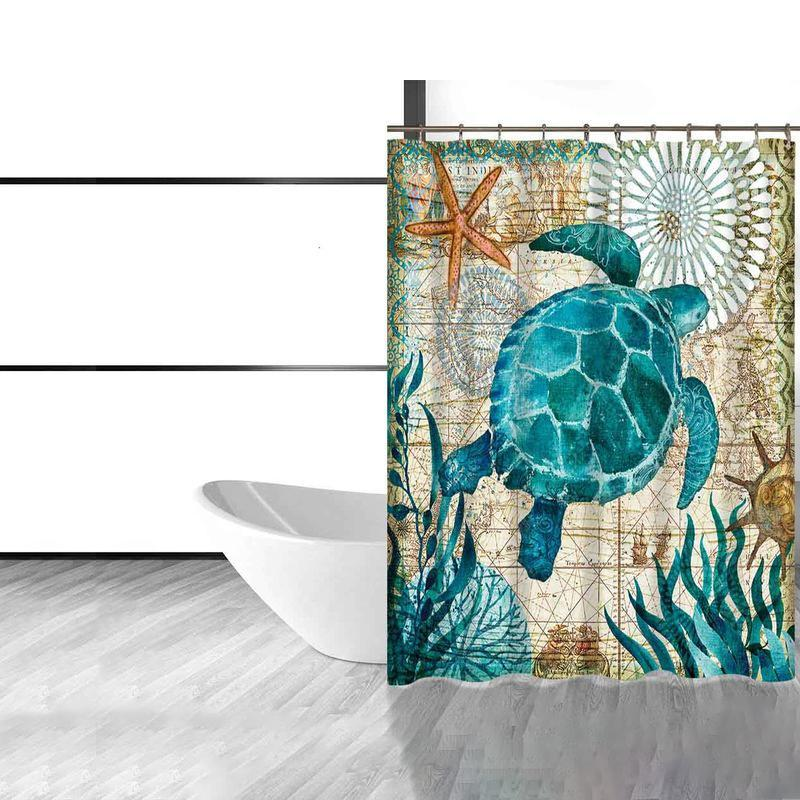 Ocean Style Shower Curtains