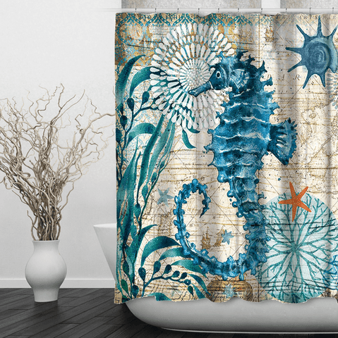Image of Ocean Style Shower Curtain
