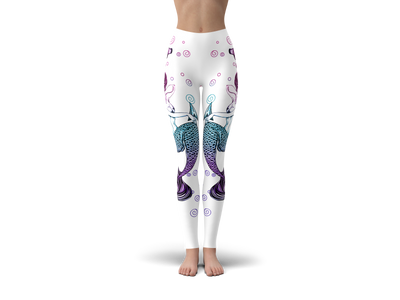 Anchor Mermaid Leggings (Warehouse)