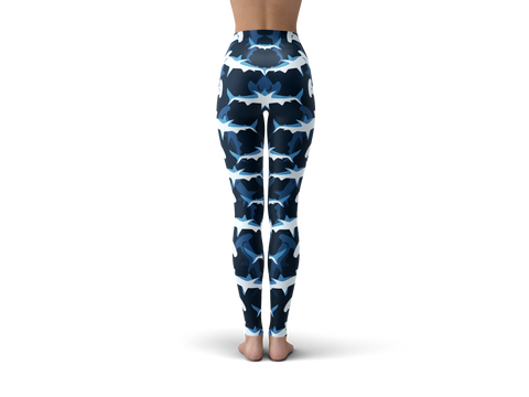 Blue Hammerhead Shark Leggings
