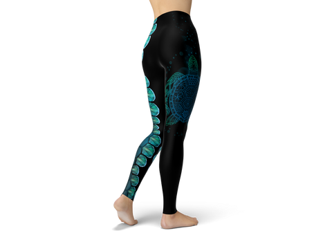 Let The Sea Set You Free Leggings
