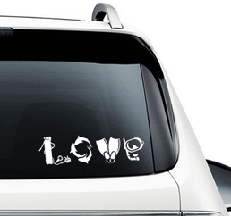 Scuba Love - Decal