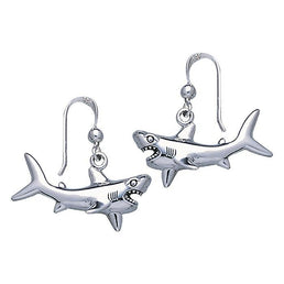 Thresher Shark on Sterling Silver Charm