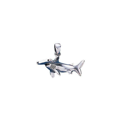 Hammerhead Shark Silver Necklace