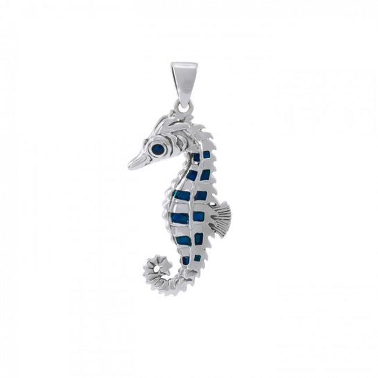 Seahorse Sterling Silver Pendant