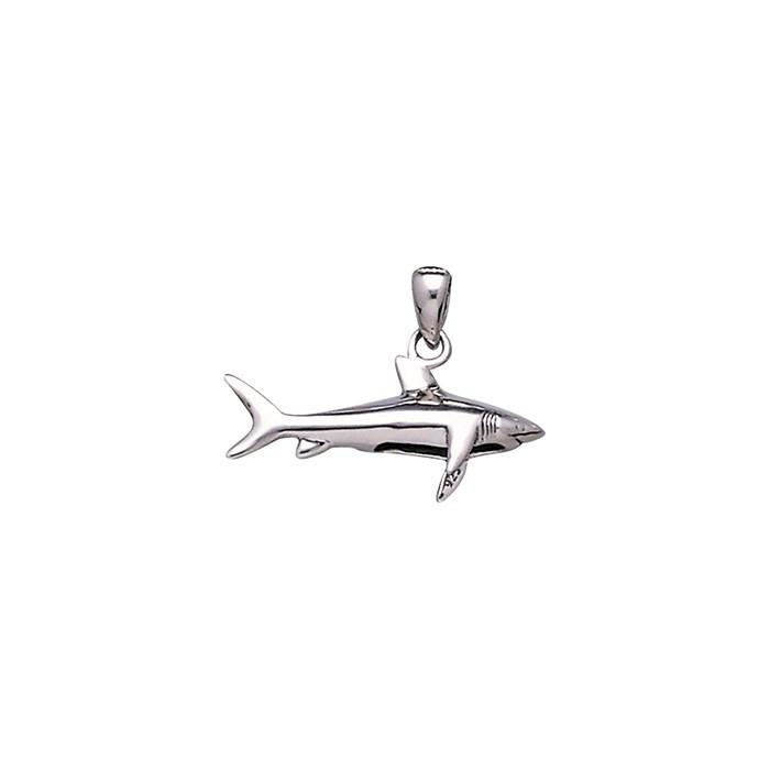 Shark Sterling Silver Necklace