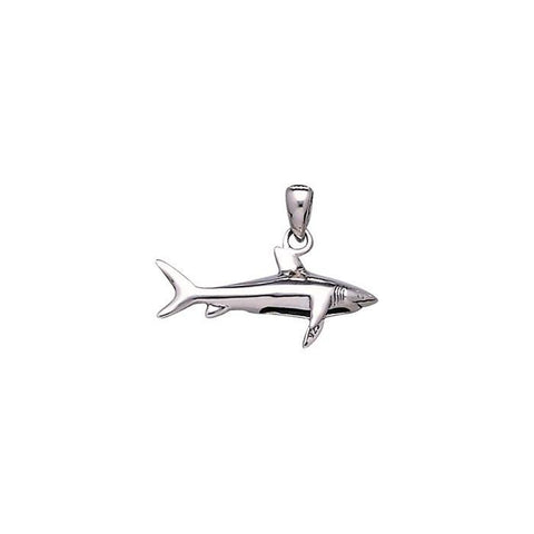 Image of Shark Sterling Silver Necklace