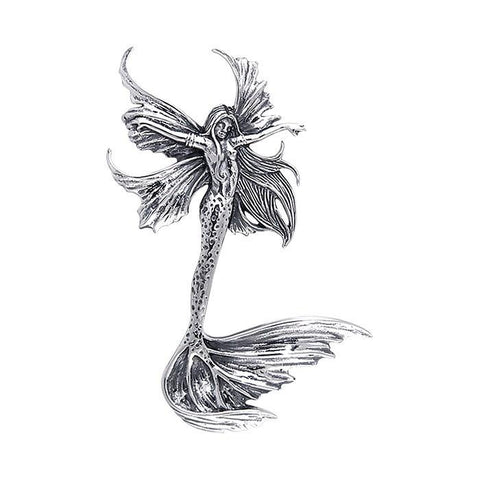 Image of Sea Sprite Fairy Sterling Silver Necklace