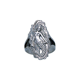 Sea Maiden Silver Ring