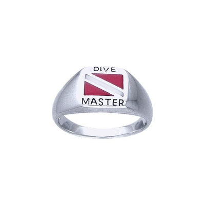 Dive Master Sterling Silver Ring