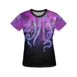 Octopus Women's All Over Print T-Shirt
