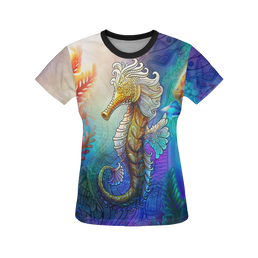 Seahorse Dream Women's All Over Print T-Shirt