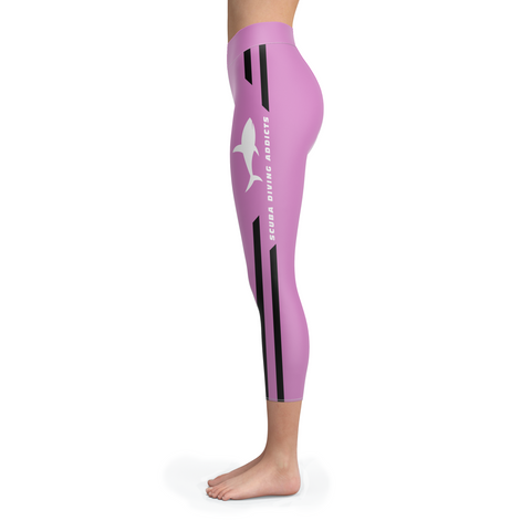 Image of Scuba Diving Addicts Pink Capris